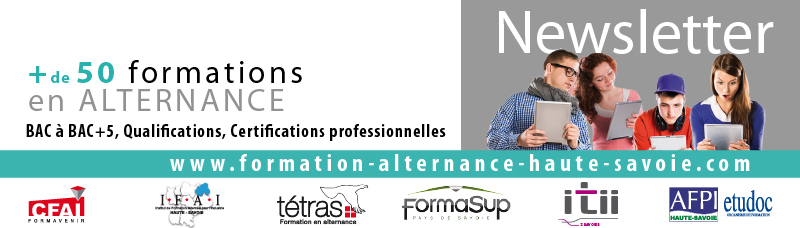 Newsletter Formation Alternance Emploi Compétences